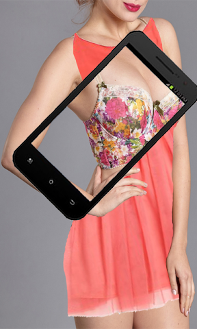 android X_ray Girls cloth scann prank Screenshot 0