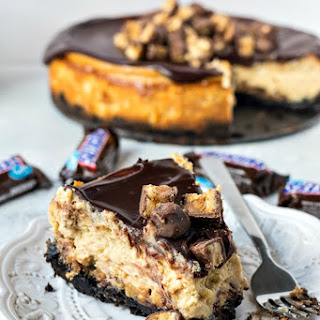 Snickers Cheesecake.