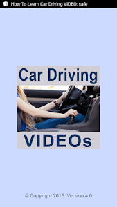 How To Learn Car Driving VIDEO screenshot 0