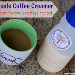 Homemade Coffee Creamer – Over 2 Dozen Flavor Varieties!.