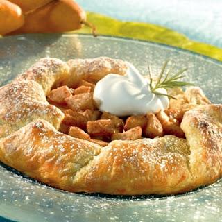 Pear & Honey Croustade.