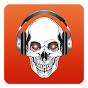 Music Search Skull icon