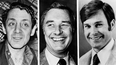 Harvey Milk, Mayor George Moscone and Dan White.
