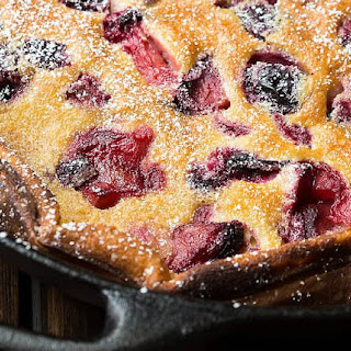 Roasted Plum Clafoutis Recipe