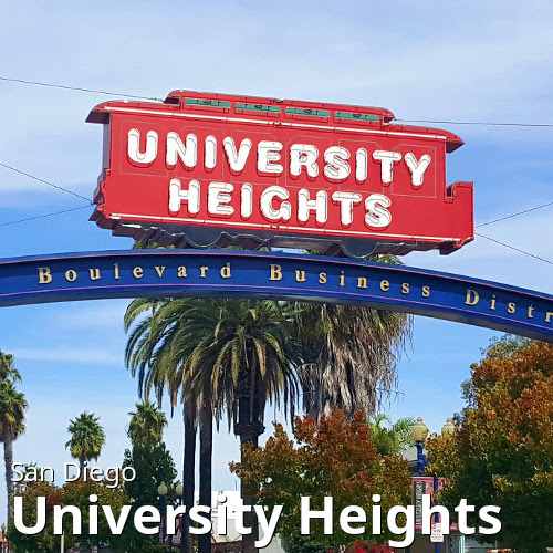 San Diego's University Heights neighborhood