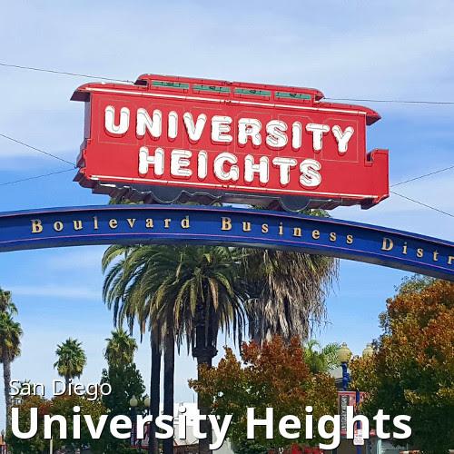 San Diego's University Heights neighborhood