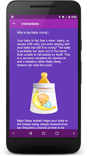 Baby Sleep Instant Screenshot