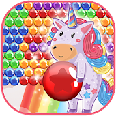 Bubble Pop: Cute Unicorn
