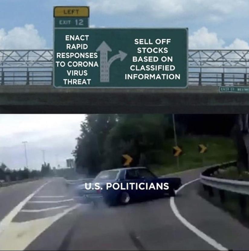 Senators and the Coronavirus: