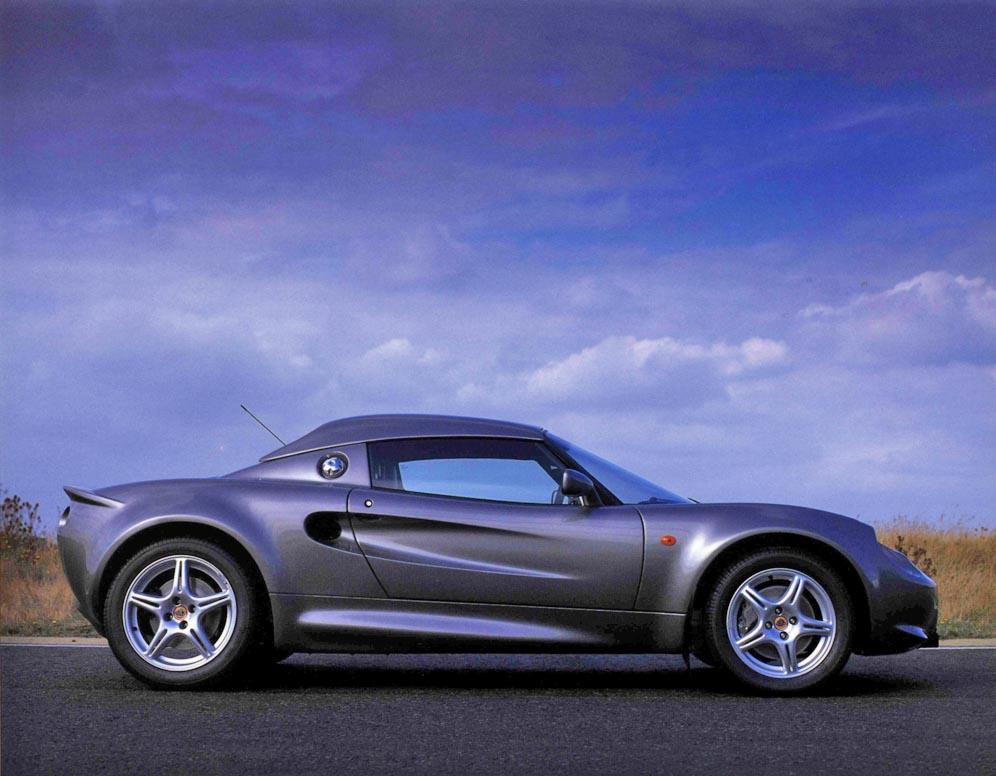 Series 1 Lotus Elise Side Profile