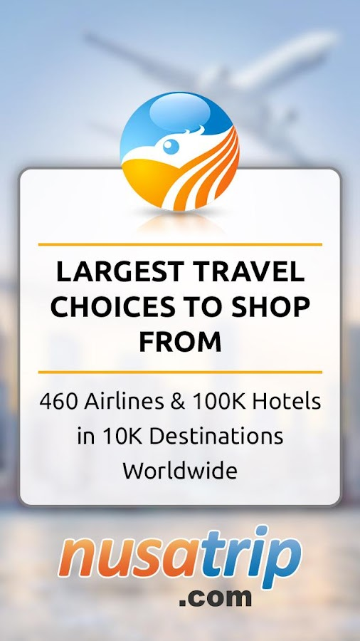 NusaTrip : Flight & Hotel - Travel Booking deals- screenshot