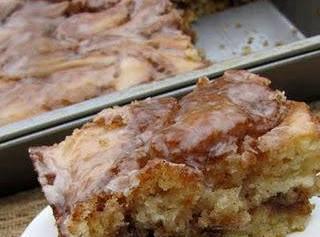 Cinnamon Roll Cake Recipe