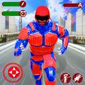 Captain Robot Speed Hero icon