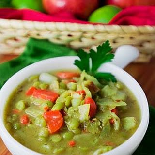 Caraway Dill Split Pea Soup.