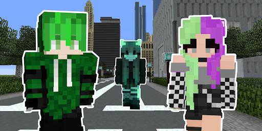 Emo Skins for Minecraft PE cheat hacks