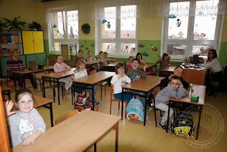 """Photo: Zajęcia pt. """"Obcy"""" z pracownikami Straży Miejskiej (28.02.2014)"""