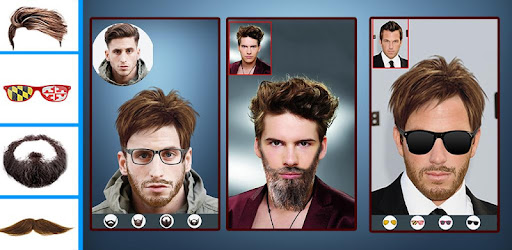 Man Mustache Beard Hairstyle Changer Apps Apk Free Download For - Photo hairstyle changer download