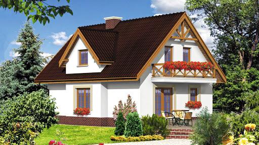projekt Dom przy Sosnowej
