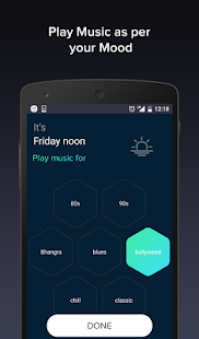 Pindrop Music -smart playlists - náhled