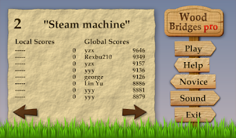 Screenshot of Wood Bridges Pro