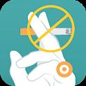 Stop Smoking With Acupressure icon