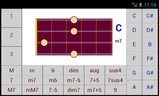 DG Mandolin Chords screenshot 2