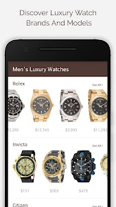 Luxury Watches For Men screenshot 0