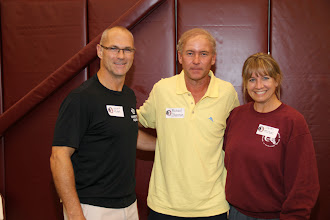 Photo: Men's Tennis Reunion at the Indoor tennis Courts Facility.