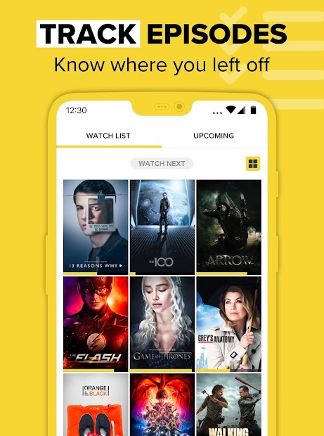 TV Time - Track What You Watch Android App Screenshot