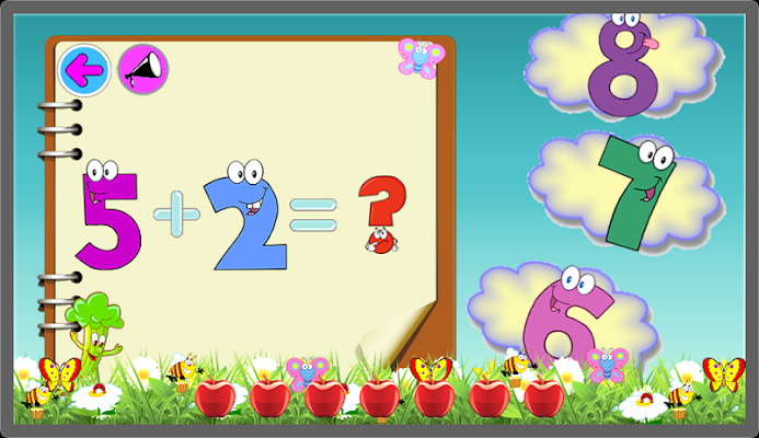 Math fast for kids - screenshot