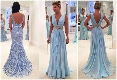 Latest Evening Long Dress - náhled