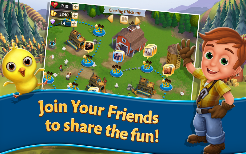 FarmVille Harvest Swap v1.0.908 (Unlimited Money) Hack Mod APK - screenshot