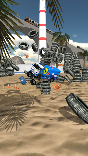 Stunt Truck Jumping apktram screenshots 3