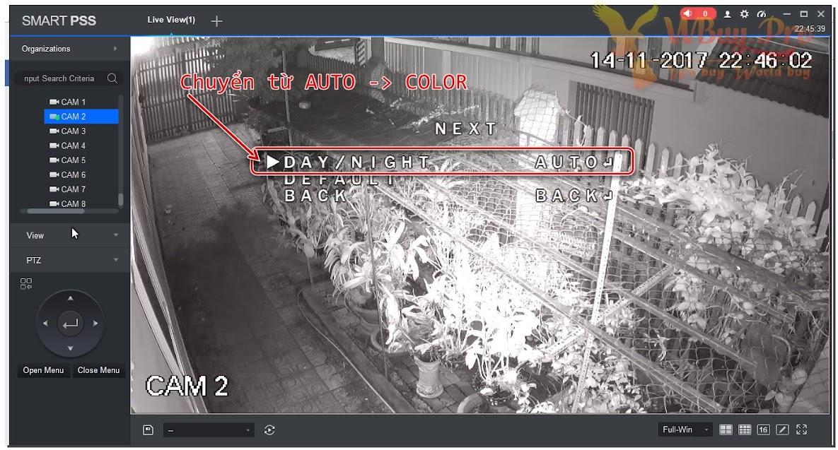 Hướng dẫn sử dụng tính năng Starlight của Camera Dahua