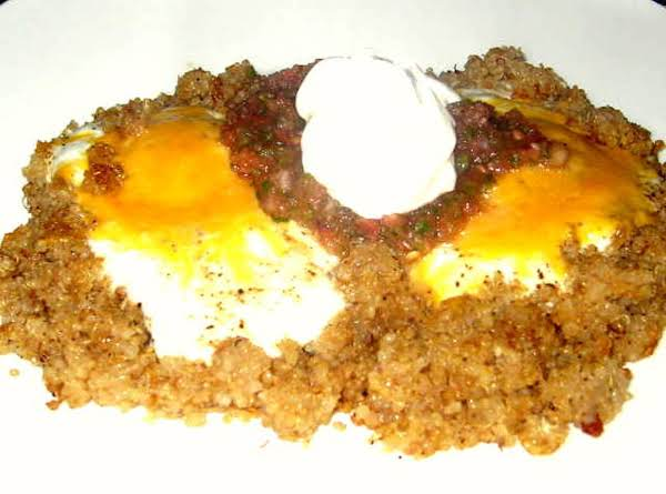 Quinoa & Egg Breakfast Plate Recipe