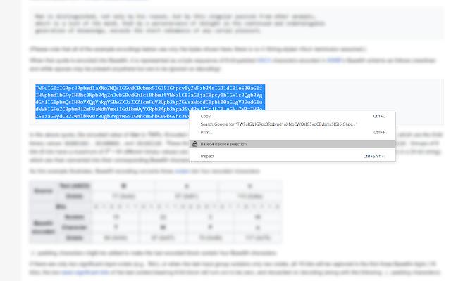 Base64 decode & copy