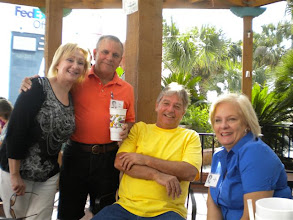 Photo: Suzy (Wright) Thomas, Terry Dietz, Jim Cockrell, Joy (Simmang) Gill