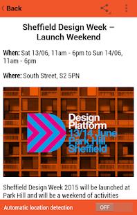 Sheffield Design Week - náhled