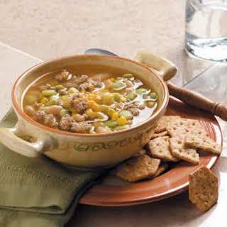 Turkey Bean Soup.