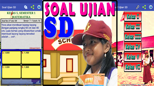Soal Ujian SD for PC