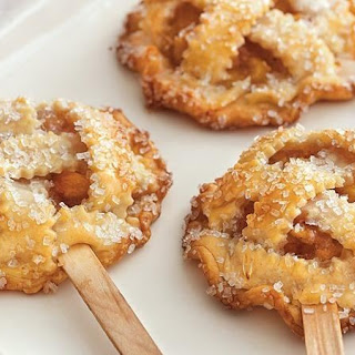 Peach Pie Pops