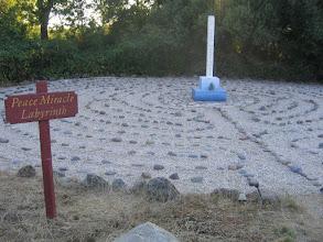 Photo: Yoga Farm, CA - labyrinth