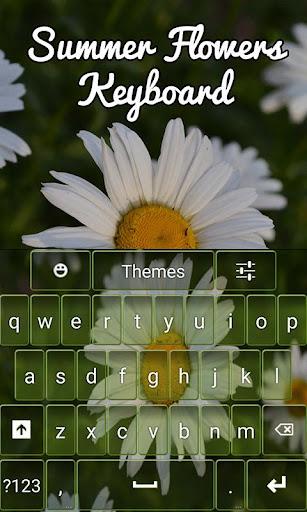 Summer Flowers Keyboard