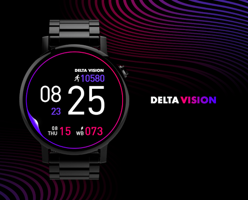 Vision watchface by Delta  screenshots 1
