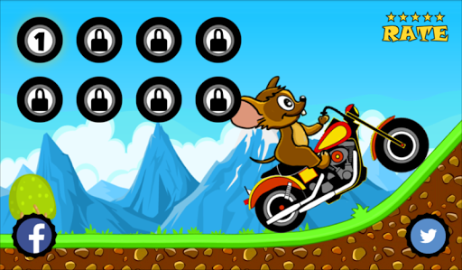 Tom Motorcycle Hill Climb  screenshots 4