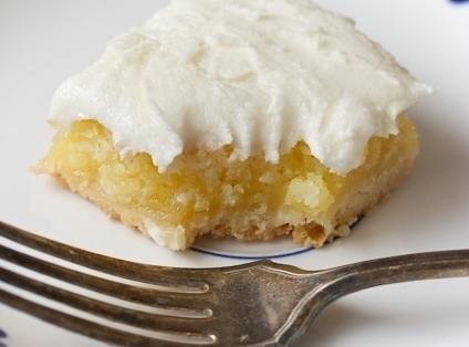 Lemon Coconut Bars Recipe