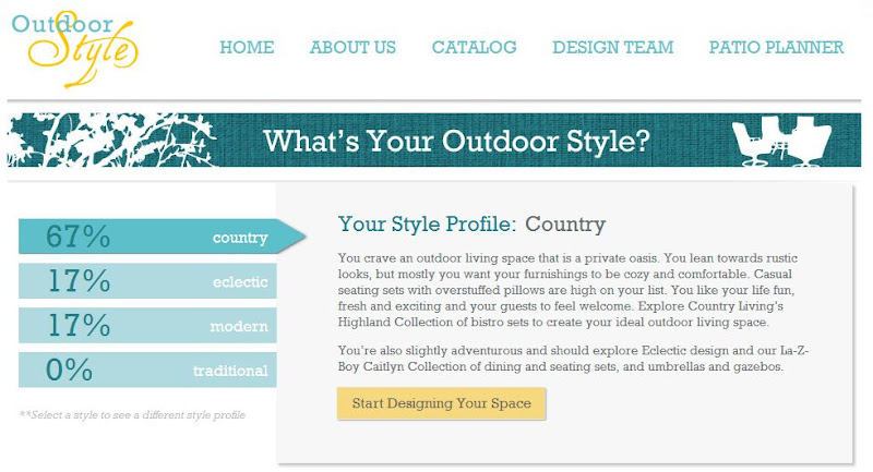 Photo: Loved this! By answering a few simple questions you can easily discover your outdoor style.