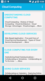 Cloud Computing Notes - náhled