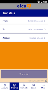 EFCU Financial App- screenshot thumbnail