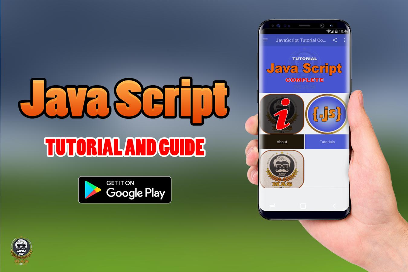 Javascript tutorial complete android apps on google play javascript tutorial complete screenshot baditri Images